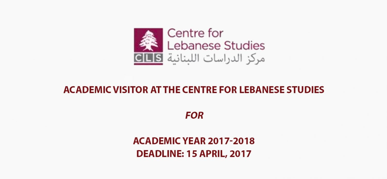 CLS is now accepting applications for academic visitors post for 2017-2018